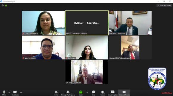 Junta Directiva del IMELCF realiza reunión ordinaria N°30