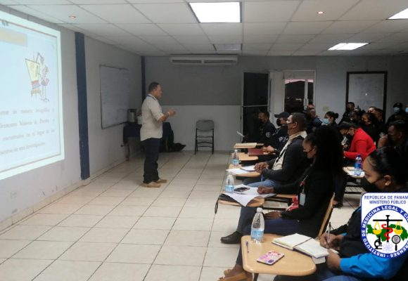 Perito de Criminalística de Bocas del Toro dicta capacitación